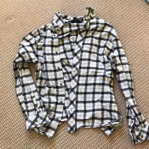 NORTHFACE LONG SLEEVE BUTTON UP